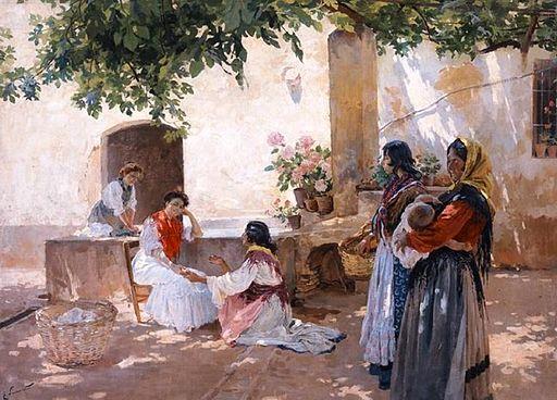 Enrique Simonet - La buenaventura - 1899