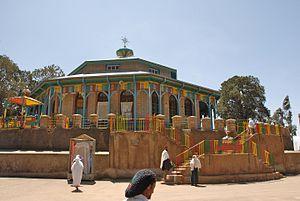 Mount Entoto - Maryam (St Mary) Church