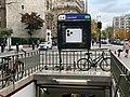 Entrée Station Métro Lourmel Paris 6.jpg