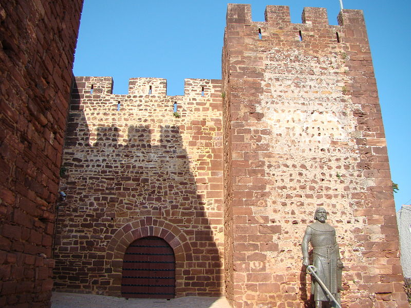 Entrance to Silves Castle.  From An Architectural Tour of Portugal