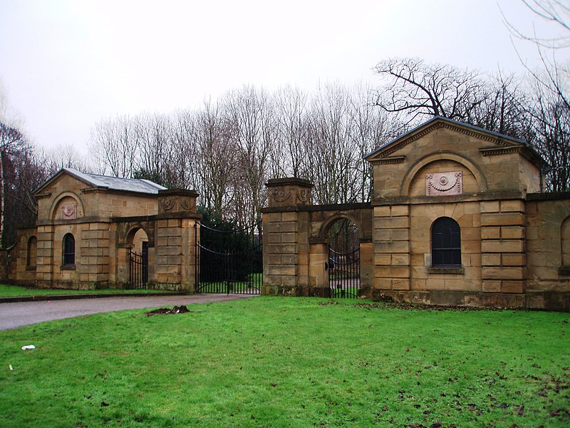 File:Entrance to Ormesby Hall - geograph.org.uk - 1690054.jpg
