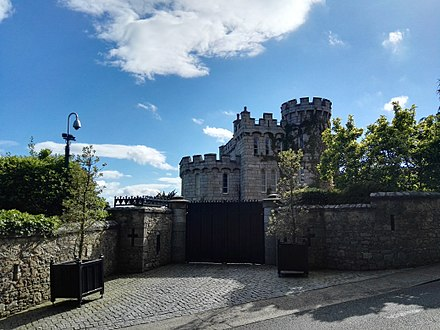 Enya's home in Killiney, County Dublin Enya Castle.jpg
