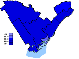 Canadian federal election results in Eastern Ontario - Conservative Party of Canada