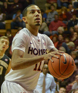 Erick Green - Green playing for Virginia Tech