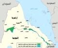 Eritrean–Ethiopian War Map 1998-ar.png