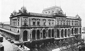Rail transport in Uruguay - the Estación Central General Artigas was opened in 1897