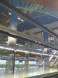 Chamartín Metro Station