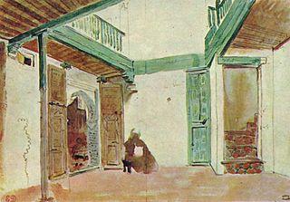 Marokkanischer Innenhof