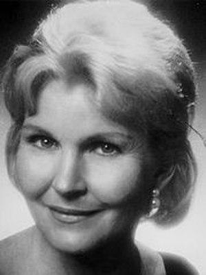 Eve McVeagh - Eve McVeagh Headshot circa 1965