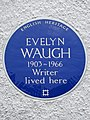 Evelyn Waugh 1903 - 1966 writer lived here (44416737780).jpg