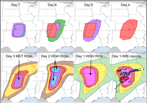 1edae0be02fe Progression of a well-anticipated high risk event across the Central Plains  on April 14