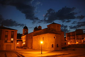 Blanche of Portugal (1259–1321) - Colegiata de Santa Maria in Briviesca founded by infanta Blanche