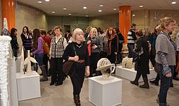 Exhibition Plein Air Snowy Summer National Library 22.01.2015 02.JPG