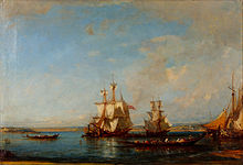Félix Ziem - Caiques and Sailboats at the Bosphorus - Google Art Project.jpg