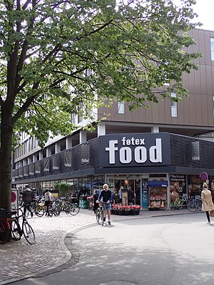 Føtex - The first føtex store in Guldsmedgade, Aarhus from 1960. The store was renovated in 2010 and the føtex food concept was introduced.