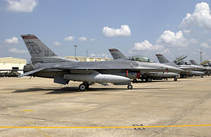184th Attack Squadron - F-16Cs Arkansas ANG at Ft Smith 2002