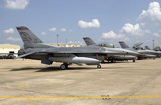 184th Attack Squadron - F-16Cs Arkansas ANG at Ft Smith 2002