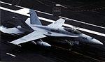 F-18C of VMFA-251 landing on USS Enterprise (CVN-65) 2012.jpg