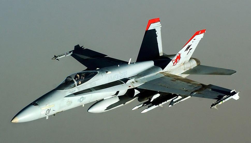 F18 Hornet Red Devils