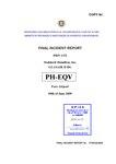 FINAL INCIDENT REPORT PRIVATE Stoddard-Hamilton, Inc. GLASAIR II RG PH-EQV Faro Airport 09th of June 2009.pdf