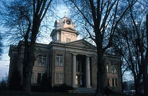 Franklin County, Georgia - Image: FRANKLIN COUNTY COURTHOUSE