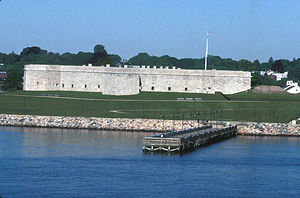 Fort Trumbull - Fort Trumbull today