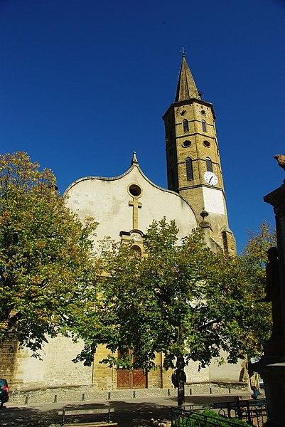 Massat (Ariège, France) - Église de la Nativité-de-la-Vierge (Inscrit)