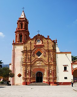 Franciscan Missions in the Sierra Gorda UNESCO world heritage in Mexico