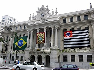University of São Paulo - Law School, founded in 1827.