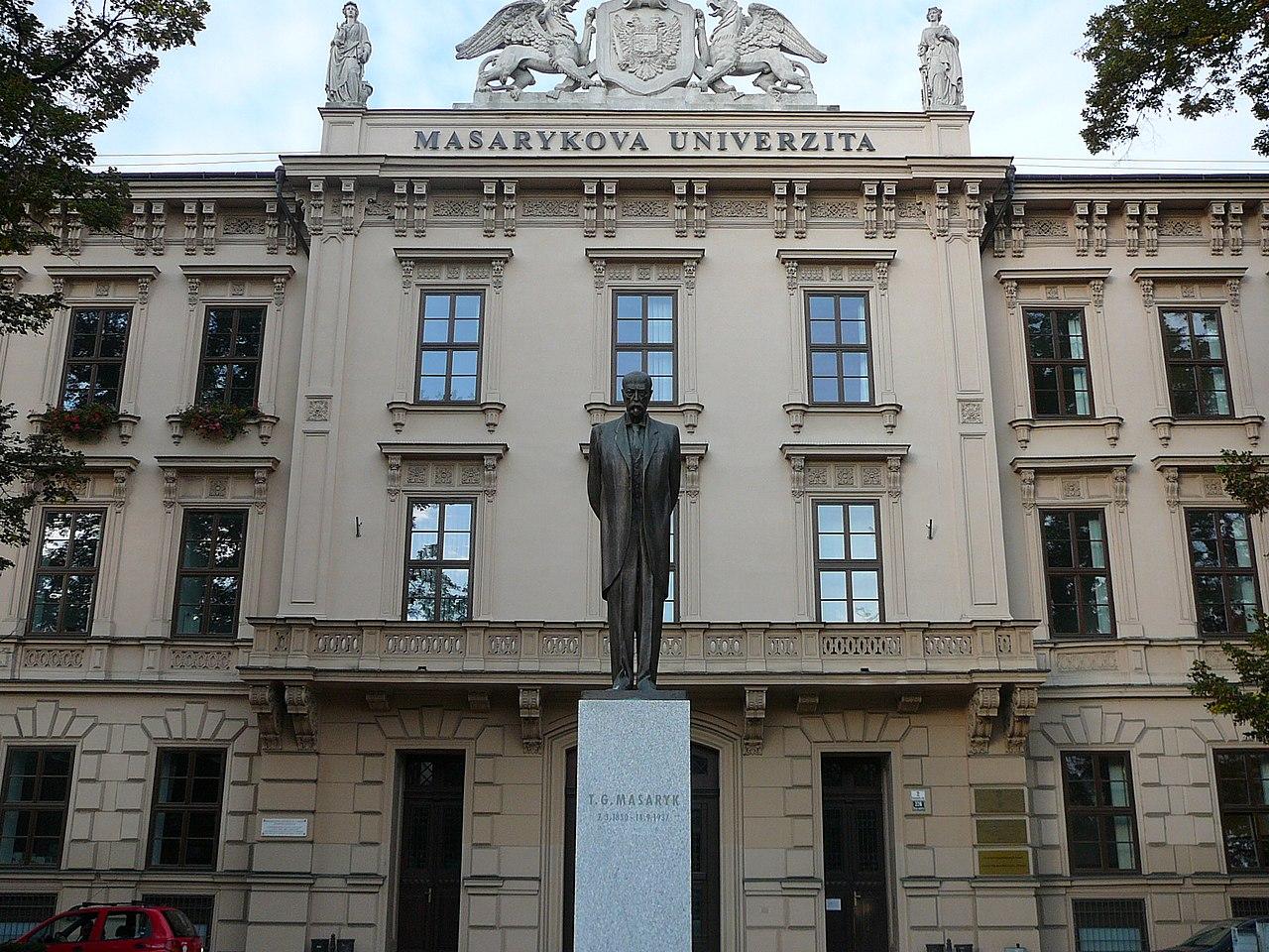 Masarykova univerzita. Zdroj: Wikimedia Commons