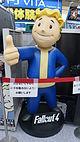 "Fallout4 ""Vault Boy"" in Yodobashi Umeda October 4, 2015.JPG"