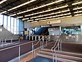 Fare lobby in West Oakland station, April 2018.JPG