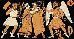 Farewell of Admetus & Alcestis