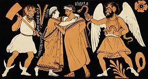 Alcestis - Image: Farewell of Admetus & Alcestis