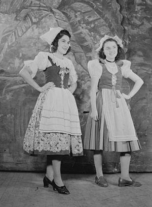 CKAC - Recording of «Radio Petit Monde» in 1943