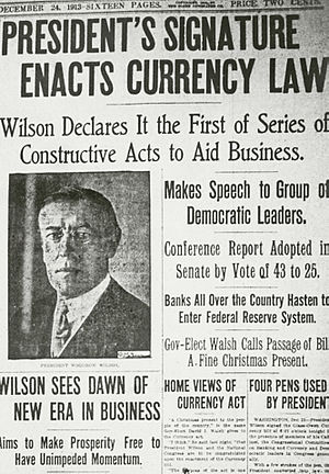 Federal Reserve Act 1913 Edit