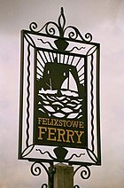 Felixstowe Ferry - village sign - geograph.org.uk - 449842.jpg