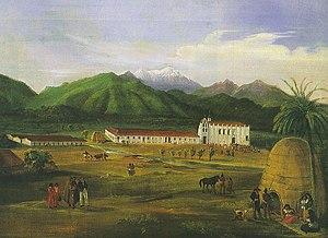 Ferdinand Deppe - San Gabriel Mission, 1832 by Ferdinand Deppe