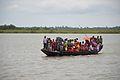 Ferry Boat Crossing River Matla - Godkhali - South 24 Parganas 2016-07-10 4844.JPG