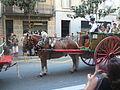 Festa Major de Gràcia 2011 - colles de Sant Medir - XIII cercavila de cultura popular - carrer Gran P1330058.jpg