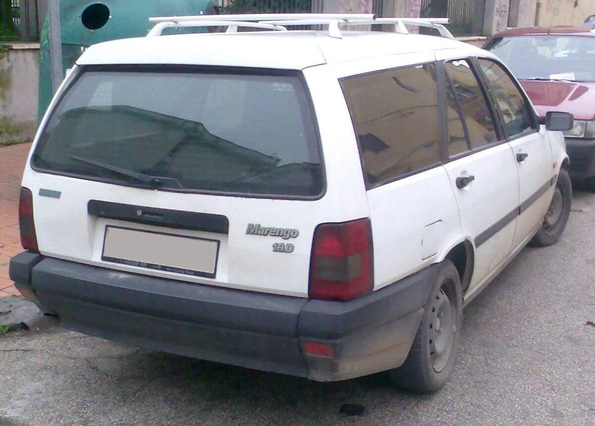 Px Fiat Marengo Second Generation