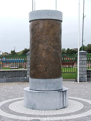 Michael Corcoran -  Monument to Fighting 69th in Ballymote