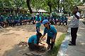 Fire-making - Survival Programme - Summer Camp - Nisana Foundation - Sibpur BE College Model High School - Howrah 2013-06-09 9669.JPG