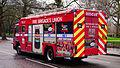 Fire Brigades Union (FBU) 1991 Carmichael Volvo FL6 14 Intercooler - City of Westminster, London - UK (17039213510).jpg