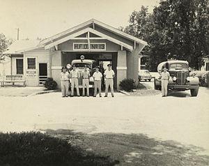 Oak Forest, Houston - Fire Station 13, 1950
