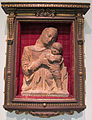 Firenze, madonna col bambino, terracotta, 1500 ca.JPG