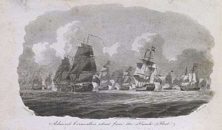 First Battle of Groix 16 June 1795 by William Anderson First Battle of Groix PU5491.jpg