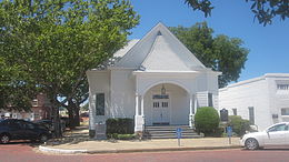 First Christian Church, Eastland, TX IMG 6423.JPG