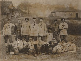 1892 Georgia Tech football team - Image: First GT Football Team 1893