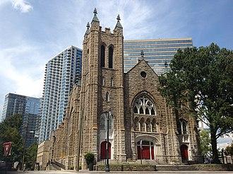 Demographics of Georgia (U.S. state) - First Methodist Episcopal Church South, Atlanta, Georgia